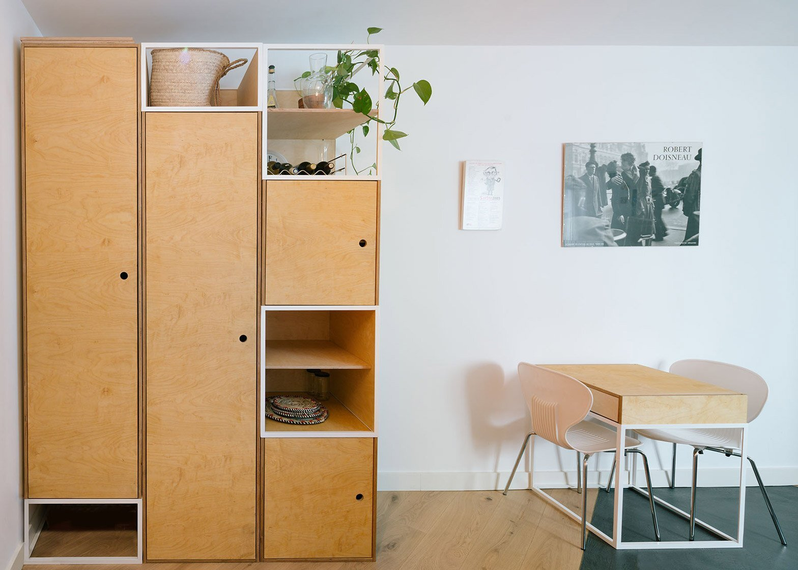 Casa MD - Small Apartment - PYO Arquitectos - Madrid - Closets - Humble Homes