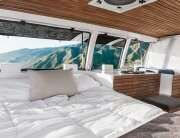 Chevy Cargo Van Conversion - Zach Both - Windows Open - Humble Homes