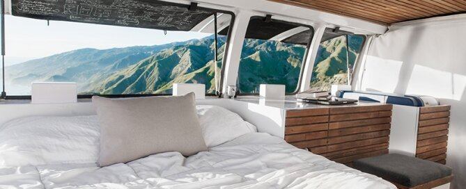 Chevy Cargo Van Conversion - Zach Both - Windows Open - Humble Homes