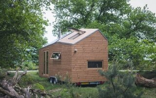 Marjolein Jonker's Cool and Calming Contemporary Tiny House on Wheels