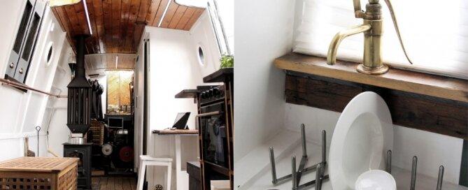 Floating House Liz - Marco Monterzino - London - Interior - Humble Homes