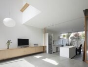 House in Midorigaoka - Yutaka Yoshida Architect & Associates - Japan - Living Room and Kitchen - Humble Homes