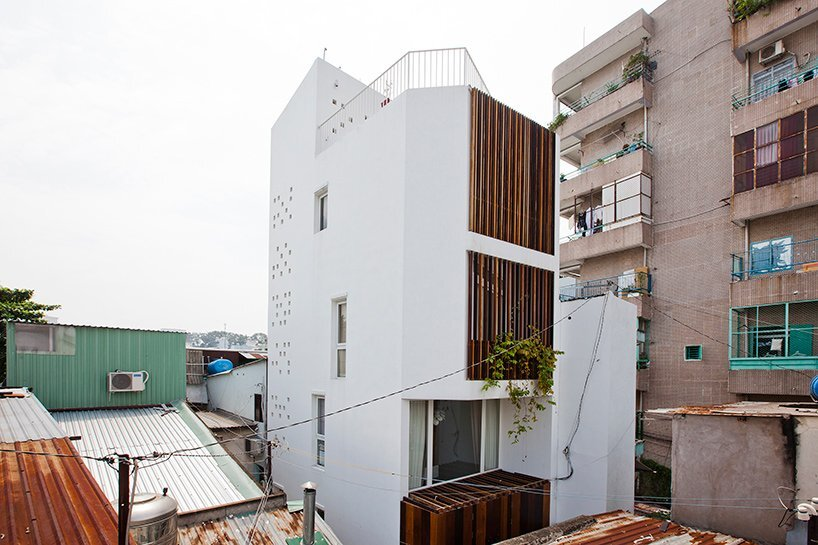 Micro Townhouse - MM++ Architects - Vietnam - Exterior - Humble Homes