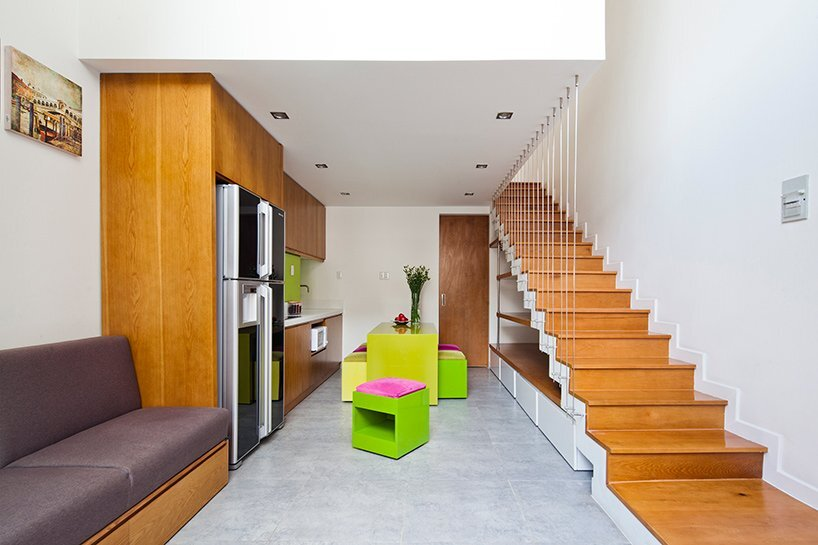 Micro Townhouse - MM++ Architects - Vietnam - Living Room - Humble Homes