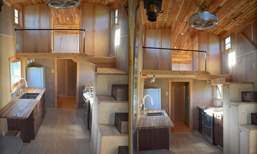 moon dragon a fairy tale tiny house by zyl vardos that costs 96 000. Black Bedroom Furniture Sets. Home Design Ideas