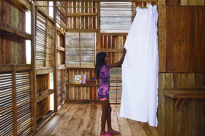 Proyecto Chacras - Natura Futura Arquitectura - Ecuador - Partition Curtain - Humble Homes