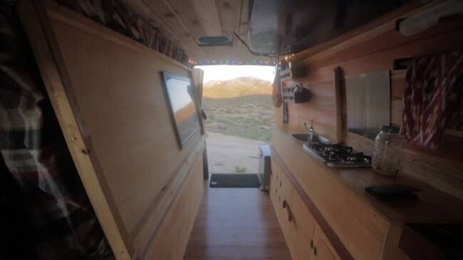 Sprinter Van Conversion To Cozy Tiny Home By Cyrus Sutton