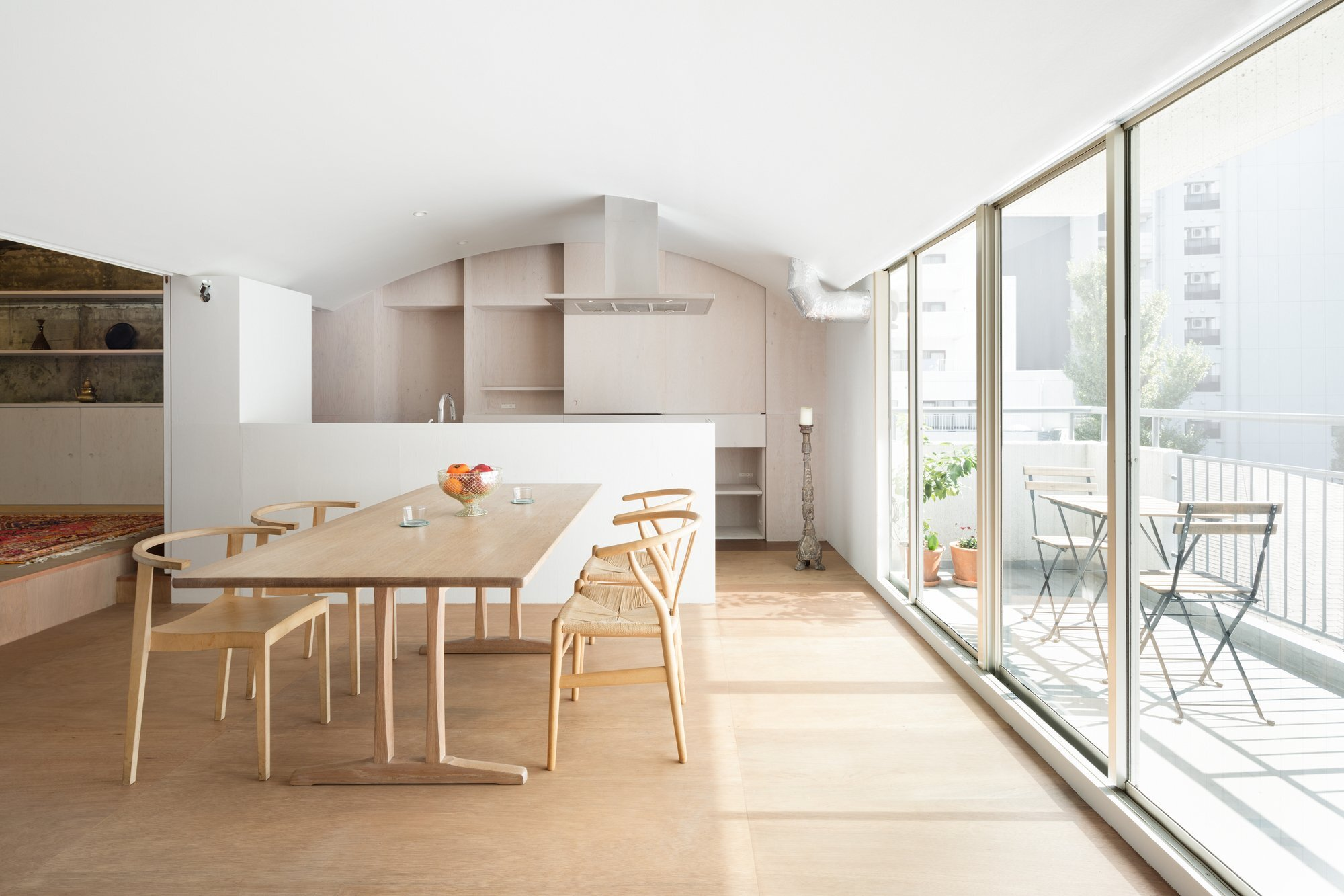 Team Living House - Masatoshi Hirai Architects Atelier - Tokyo - Dining Area - Humble Homes