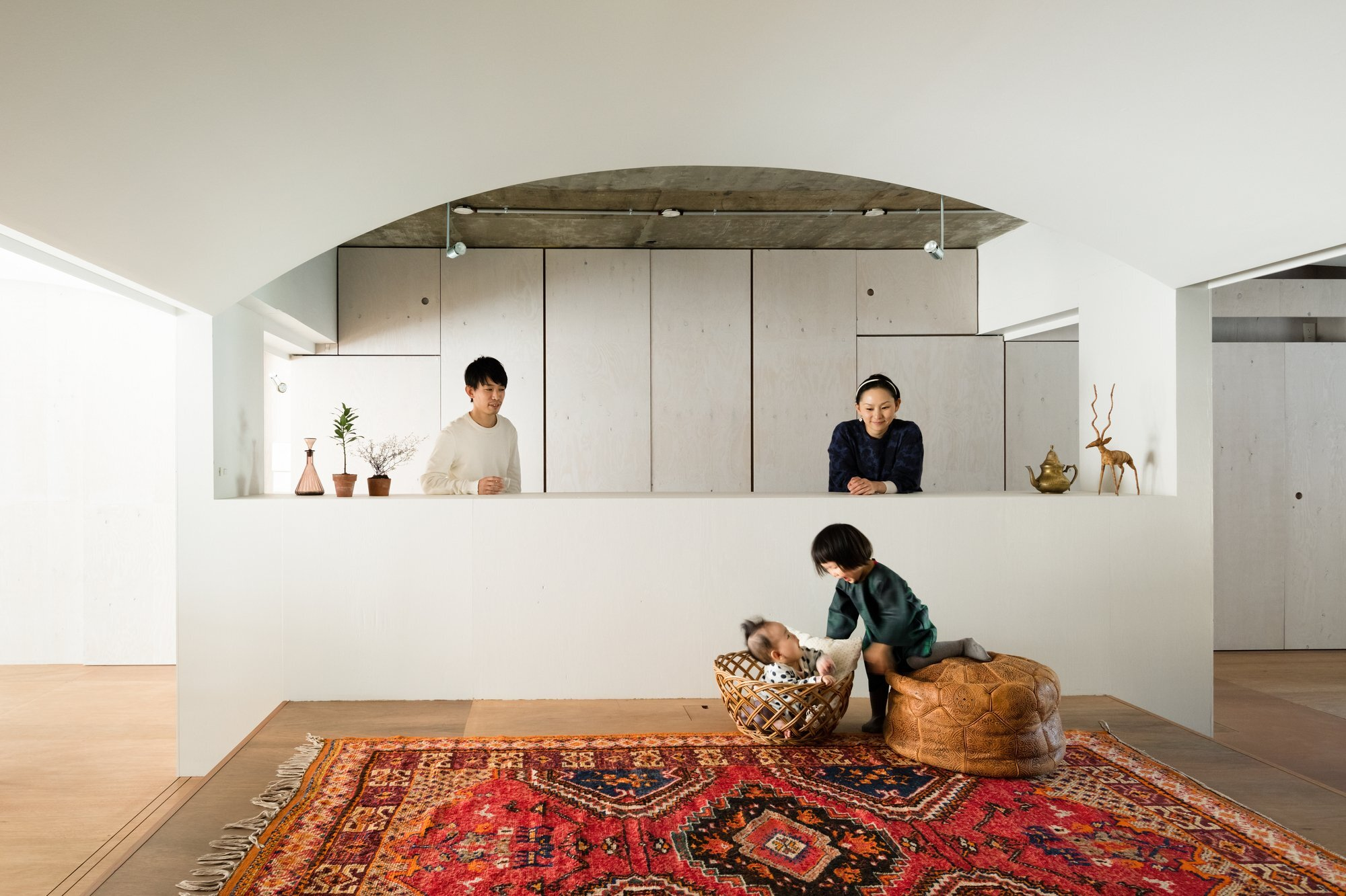 Team Living House - Masatoshi Hirai Architects Atelier - Tokyo - Living Area - Humble Homes