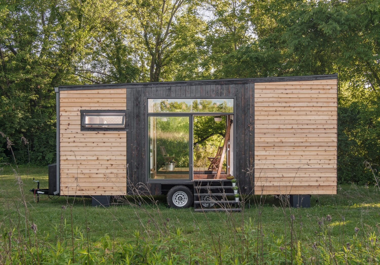 Alpha Tiny House - New Frontier Tiny Homes - Nashville - Exterior - Humble Homes