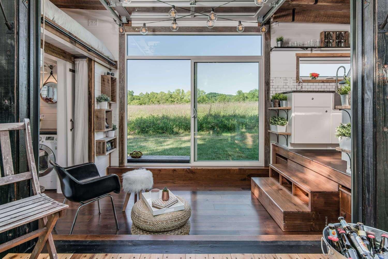 Alpha Tiny House - New Frontier Tiny Homes - Nashville - Living Area - Humble Homes