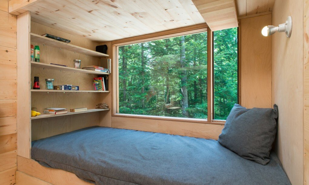 Getaway Tiny House - Millennial Housing Lab Harvard - Boston - Bedroom Nook - Humble Homes