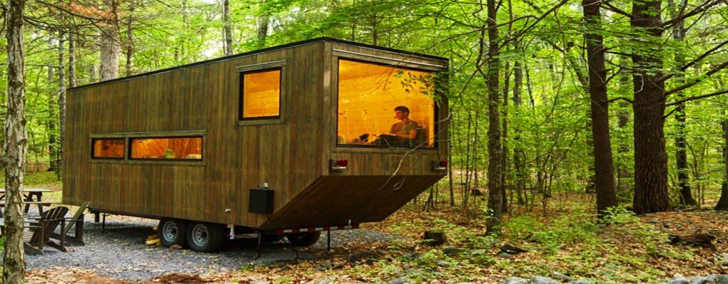Getaway Tiny House - Millennial Housing Lab Harvard - Boston - Exterior - Humble Homes