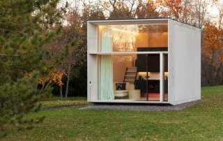 Koda – A Small Prefab Home that Mixes Design and Technology