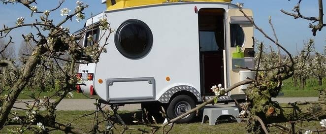 Micro Camper - Jurgen Jas - The Netherlands - Exterior - Humble Homes