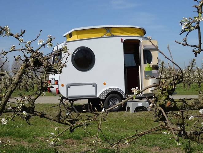 Micro Camper - Jurgen Jas - The Netherlands - Exterior - Humble Homes