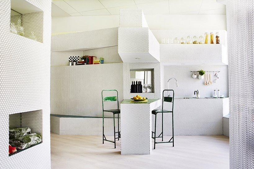 Mosaic Apartment - Zooco Estudio - Madrid - Living Area - Humble Homes