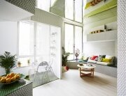 Mosaic Apartment - Zooco Estudio - Madrid - Living Room - Humble Homes