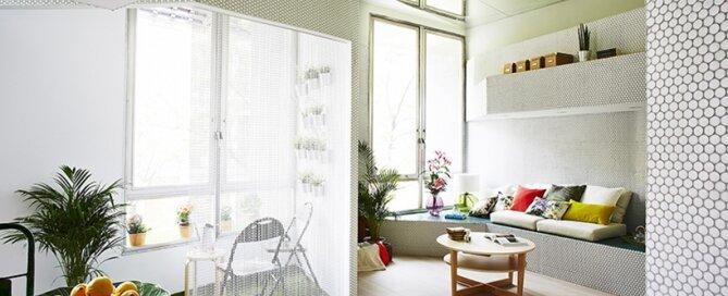 Mosaic Apartment - Zooco Estudio - Madrid - Living Room - Humble Homes
