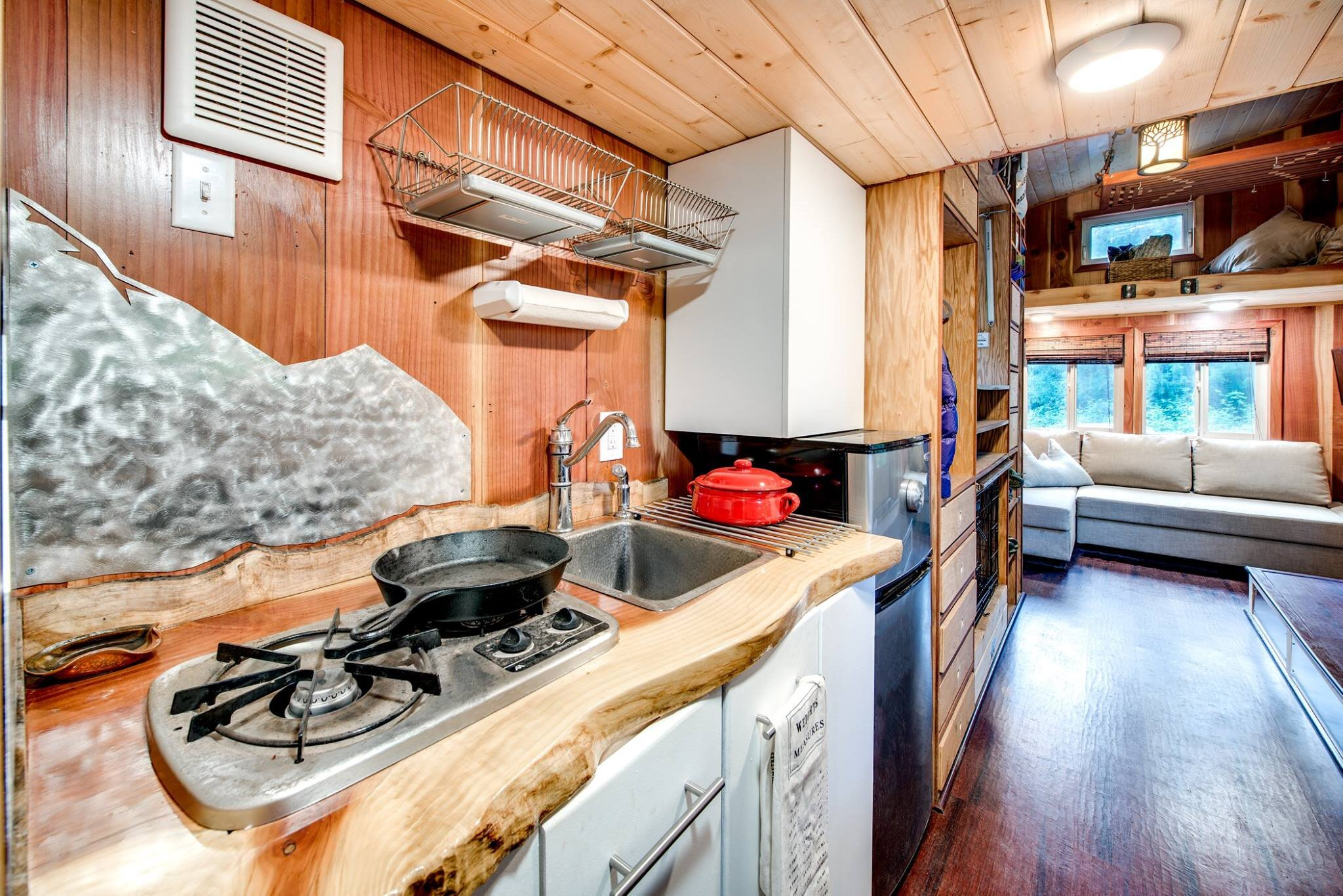 The Basecamp - Backcountry Tiny Homes - Kitchen - Humble Homes