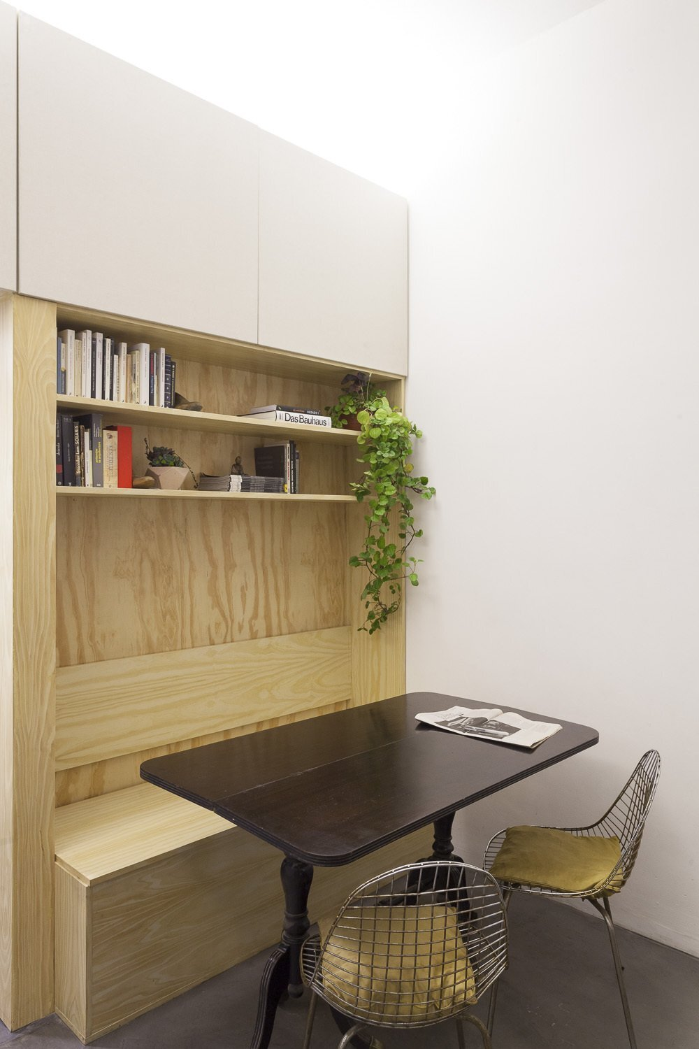 Thea Space - IR Arquitectura - Argentina - Dining Area and Desk - Humble Homes