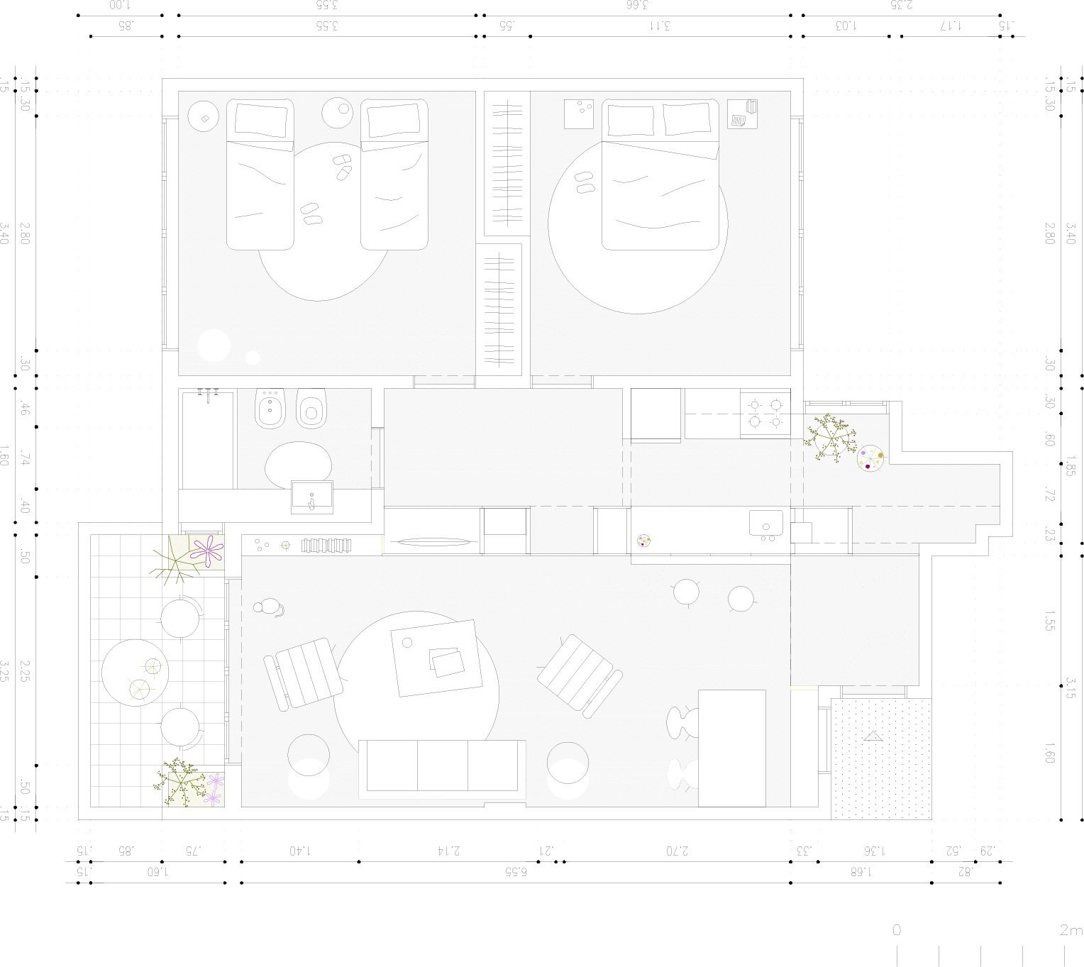 Thea Space - IR Arquitectura - Argentina - Floor Plan - Humble Homes