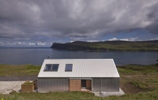Tinhouse – A Small Self-built Holiday Home that Cost £110,000