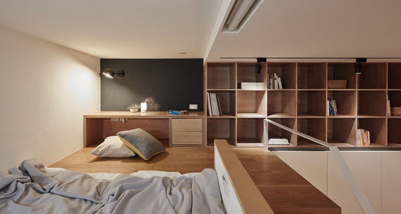 Tiny Apartment - A Little Design - Taipei Taiwan - Bedroom - Humble Homes