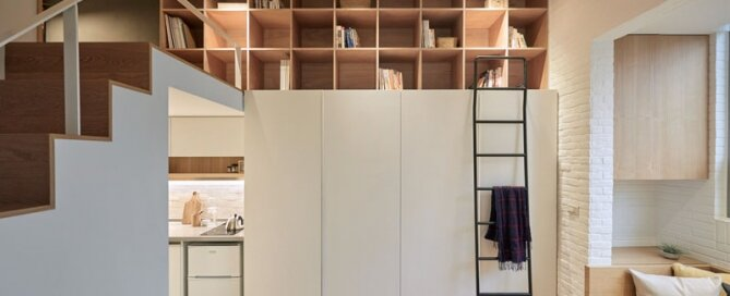 Tiny Apartment - A Little Design - Taipei Taiwan - Storage - Humble Homes