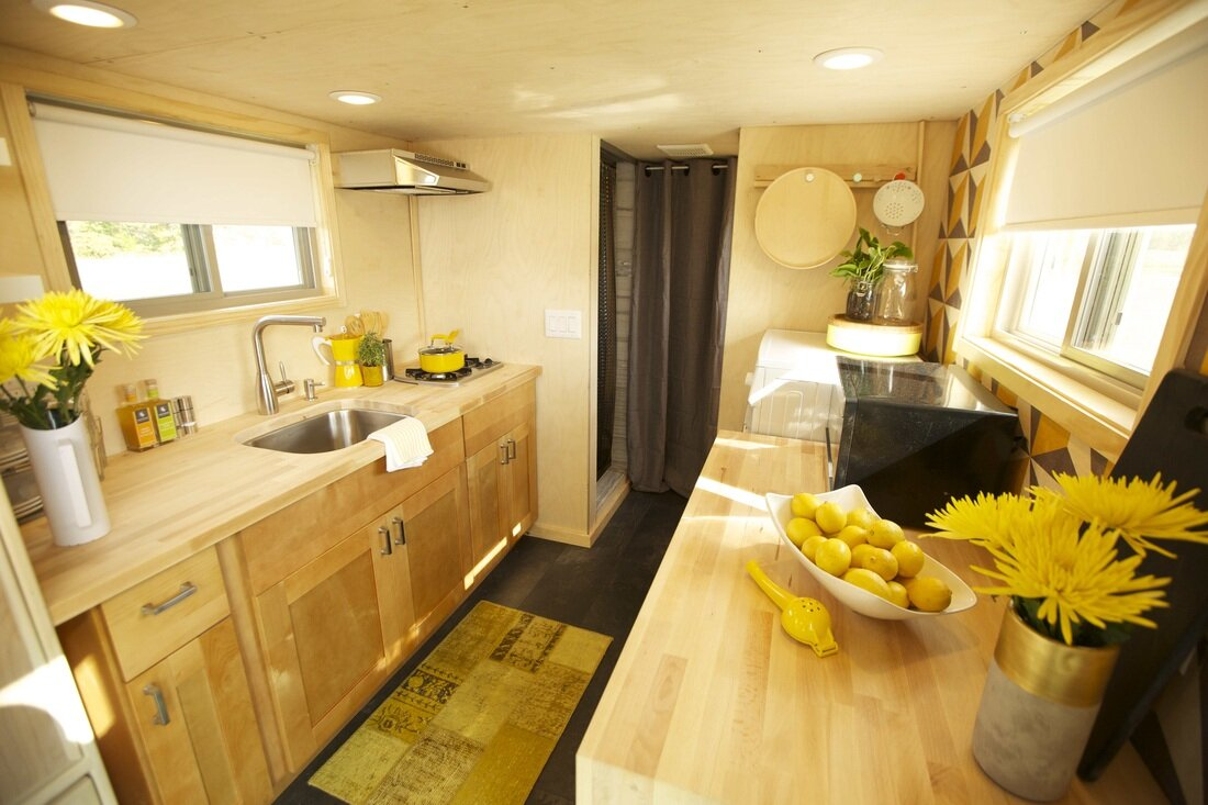Z Huis - Wishbone Tiny Homes - New Jersey - Kitchen - Humble Homes