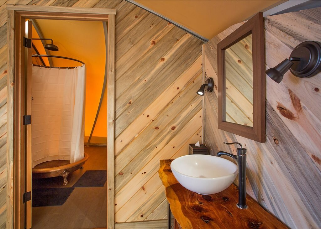 Autonomous Tent - Harry Gesner - California - Bathroom - Humble Homes