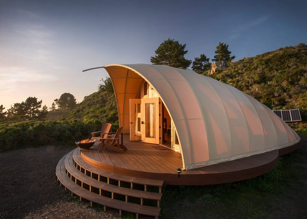 Autonomous Tent - A Luxurious Off-Grid Getaway Set Along ...