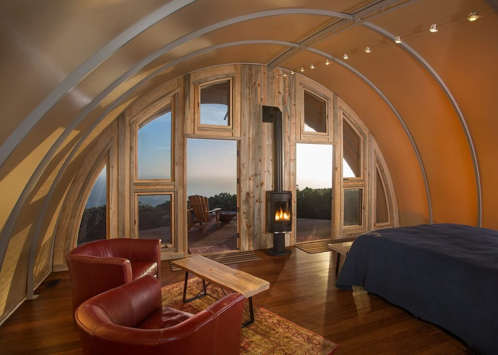 Autonomous Tent - Harry Gesner - California - Living Room and Bedroom - Humble Homes