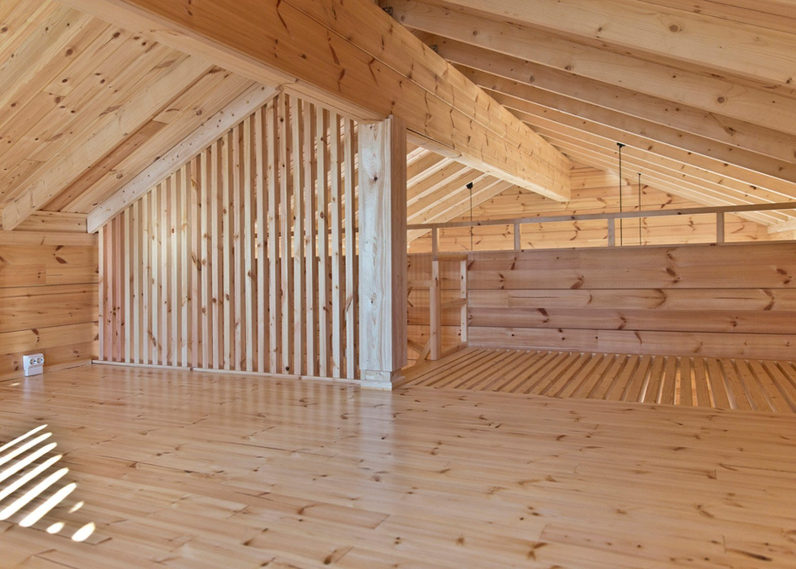 Cabin K - Sini Kamppari - Finland - Loft - Humble Homes