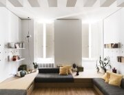 Compact Studio Design - Silvia Allori - Florence Italy - Living Room Front - Humble Homes