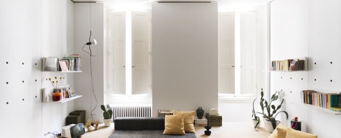 Compact Studio Design - Silvia Allori - Florence Italy - Living Room Front - Humble Homes