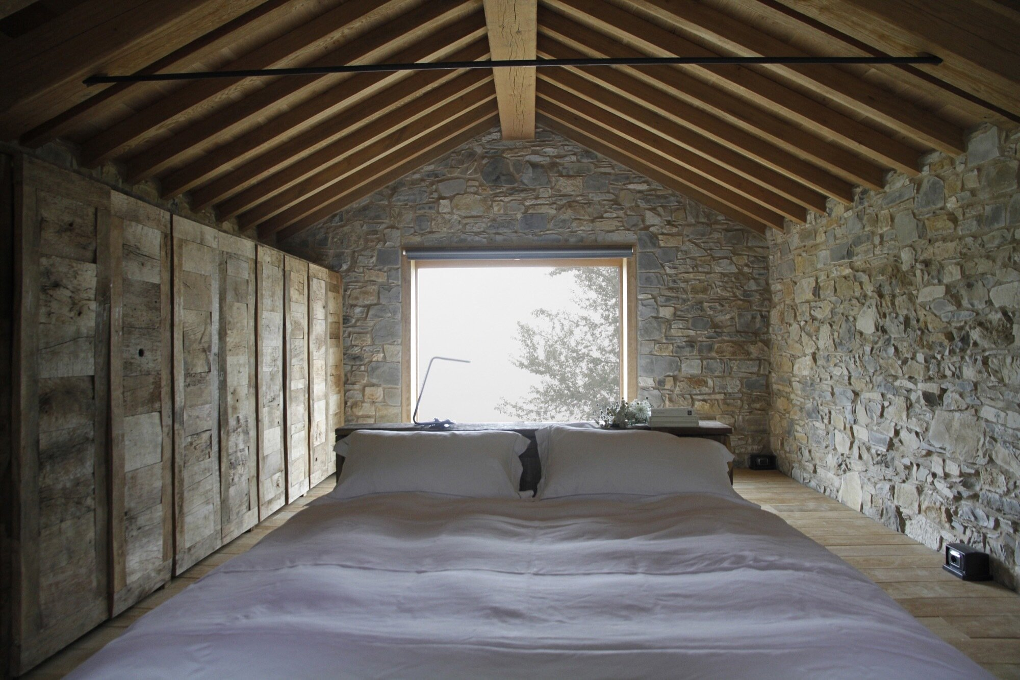 Cottage Restoration - Studio Contini - Italy - Bedrom Window - Humble Homes