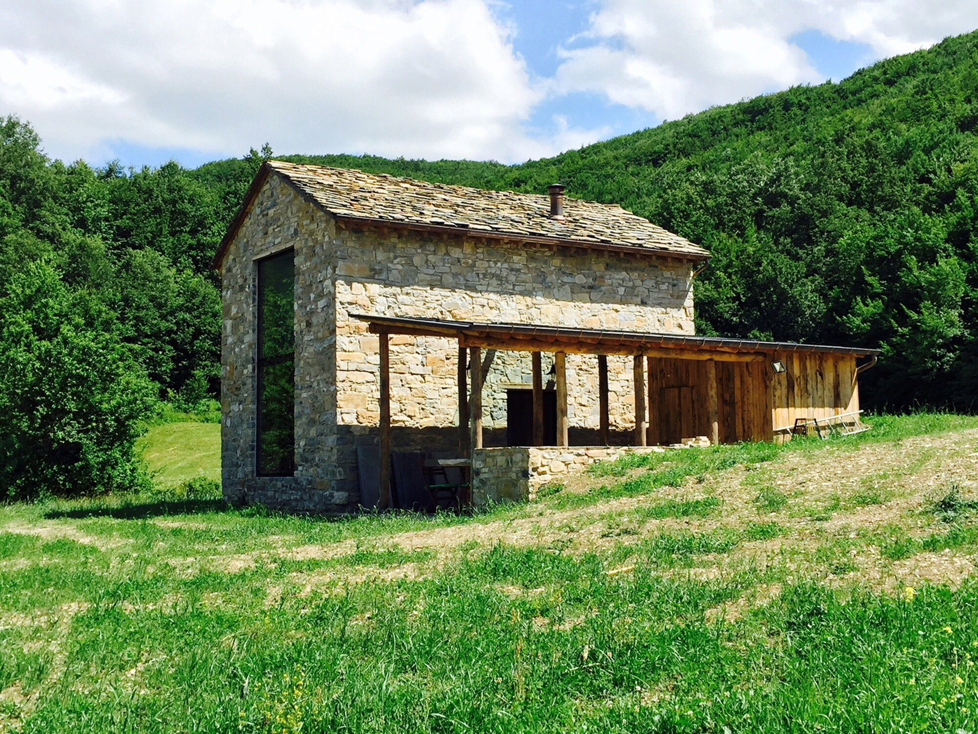 Cottage Restoration - Studio Contini - Italy - Exterior - Humble Homes