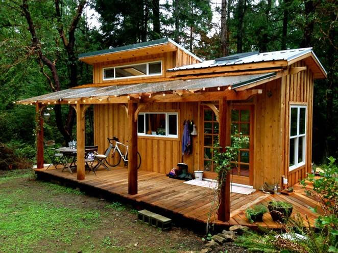 Keva Tiny House - Rebecca Grim - Salt Spring Island - Exterior - Humble Homes