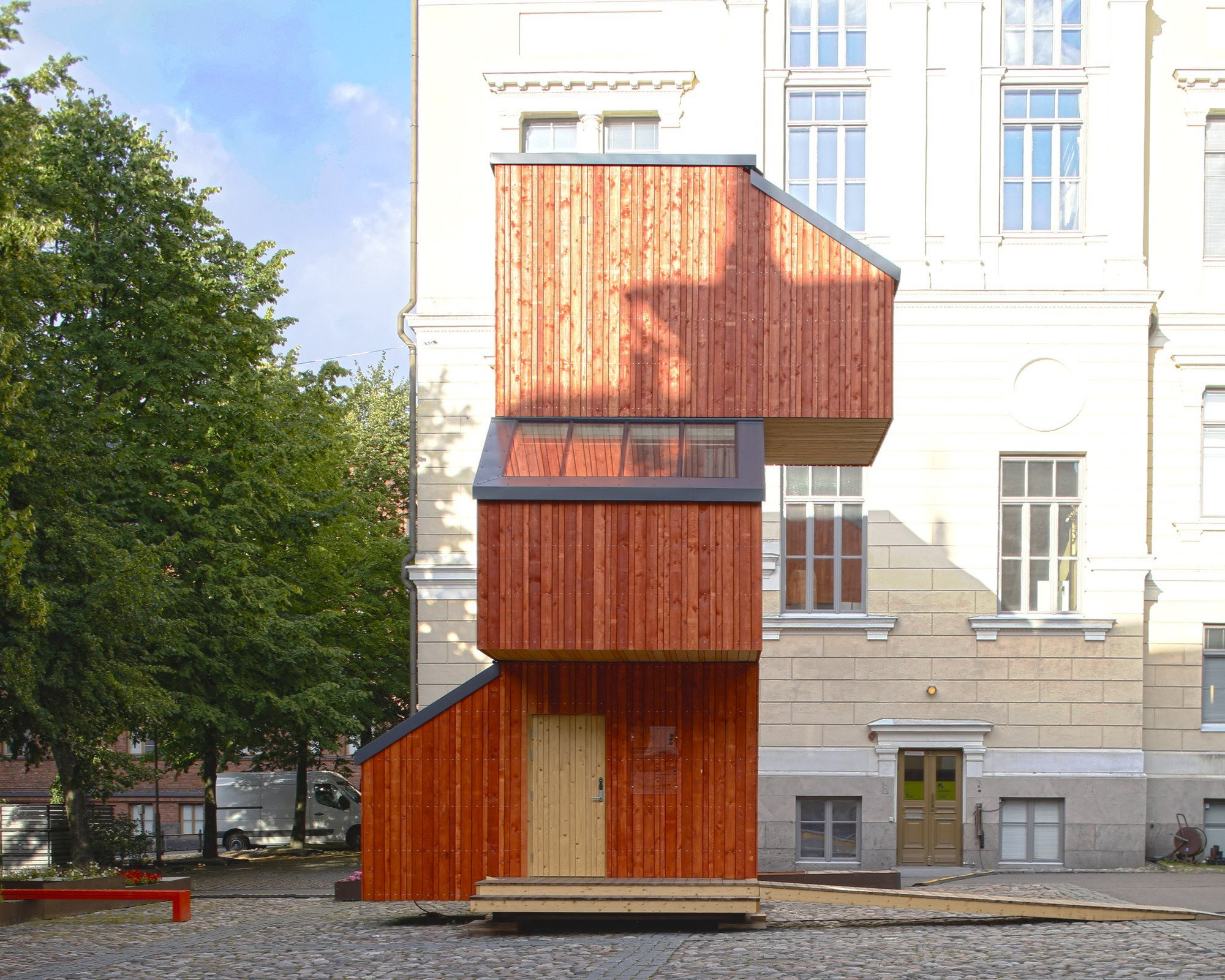 Kokoon - Aalto University Wood Program - Finland - Exterior - Humble Homes