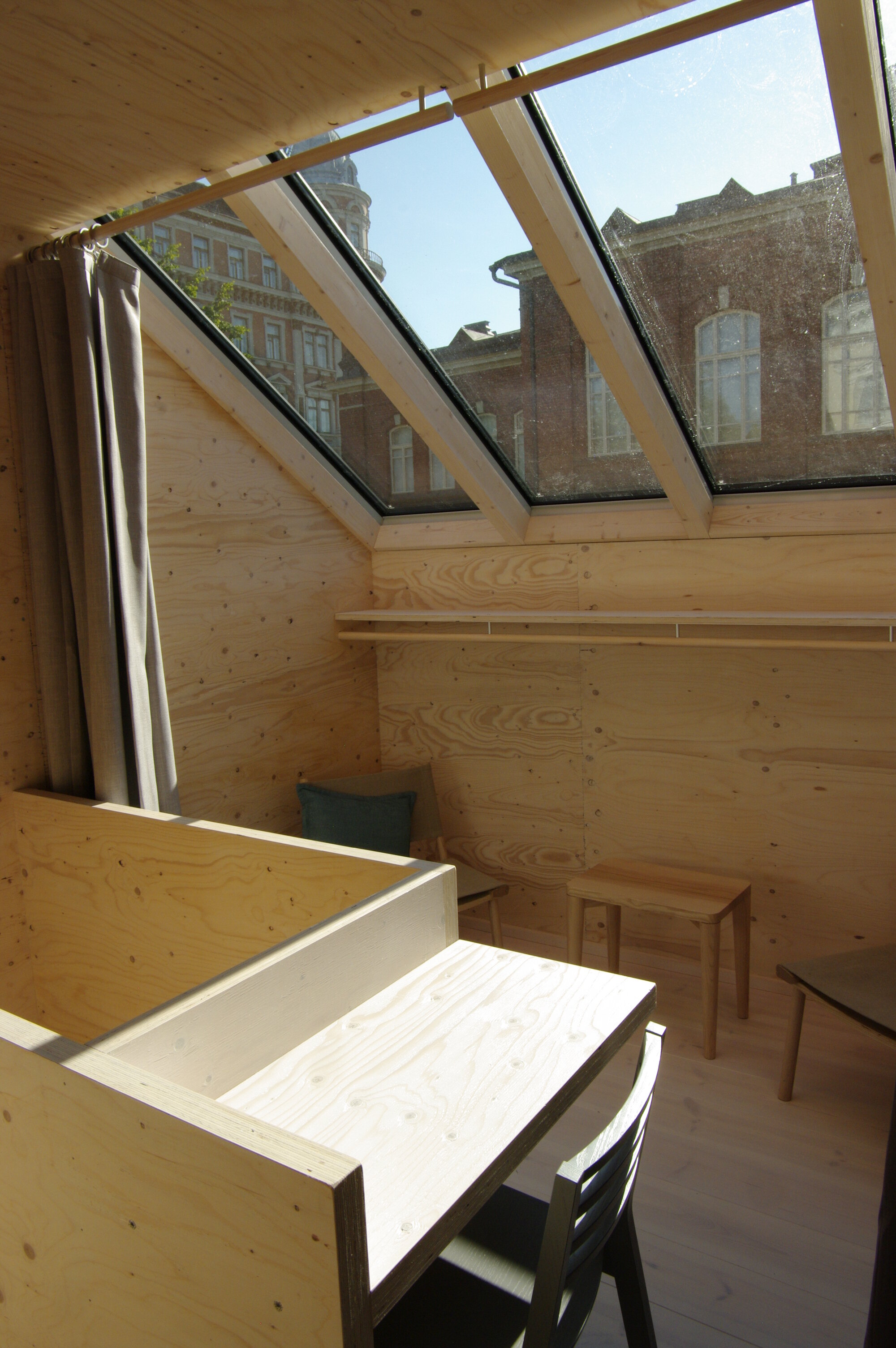 Kokoon - Aalto University Wood Program - Finland - Study Desk - Humble Homes