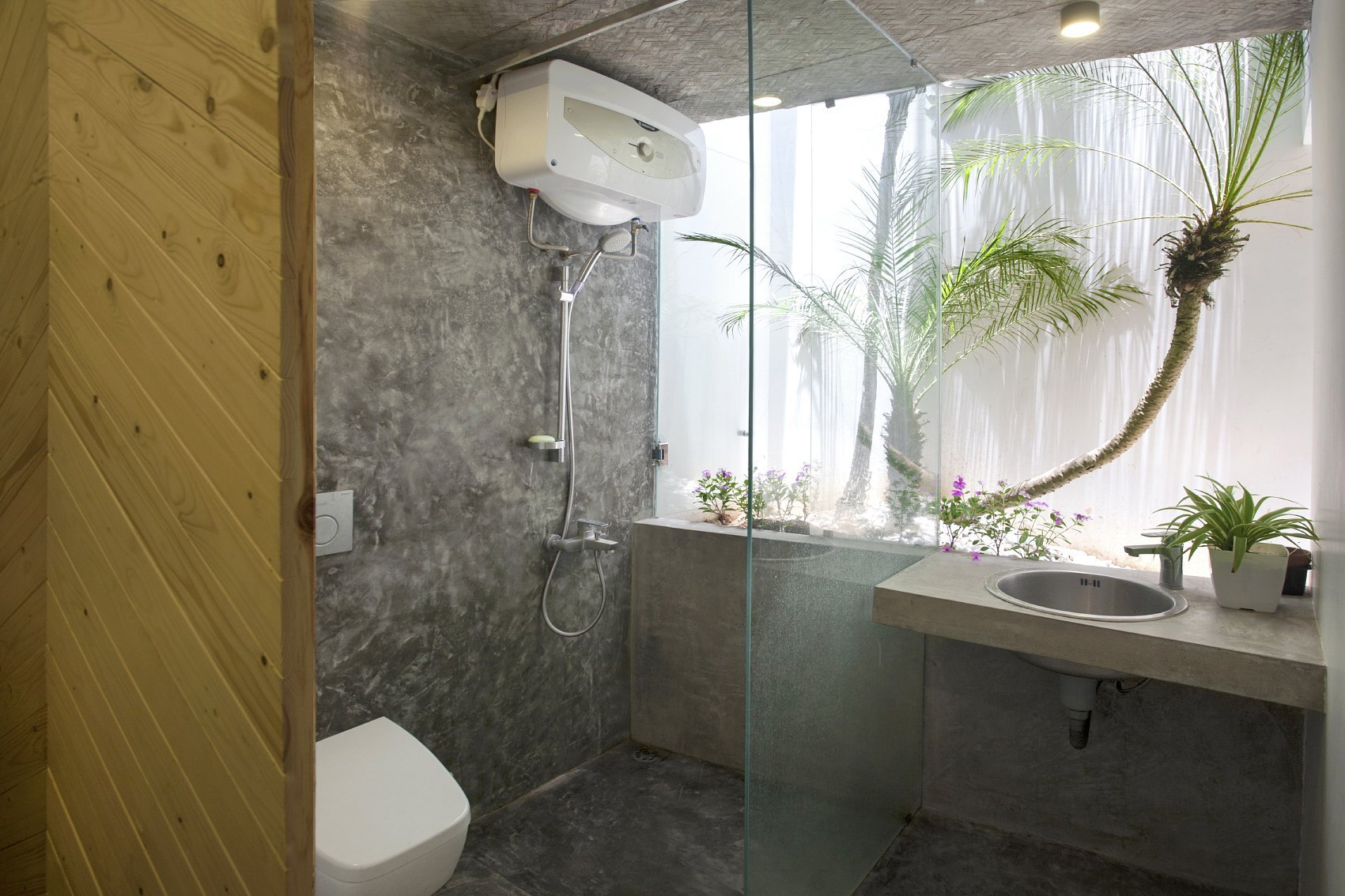 Maison T - Nghia-Architect - Vietnam - Bathroom - Humble Homes
