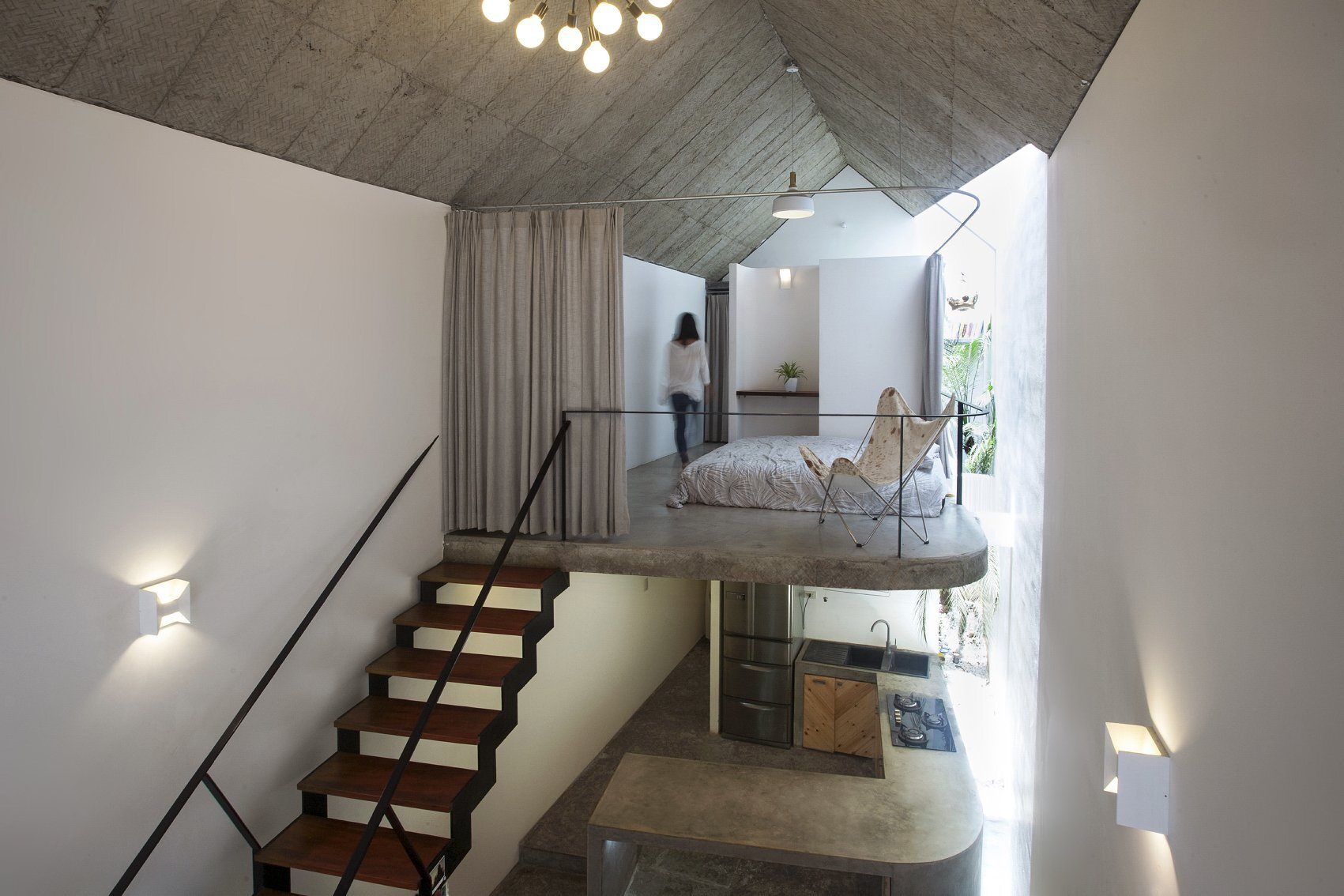 Maison T - Nghia-Architect - Vietnam - Bedroom - Humble Homes