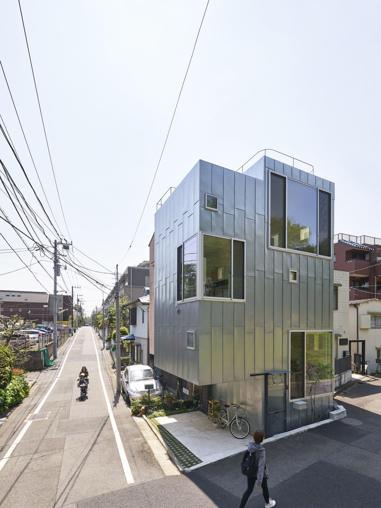Ondo - MAMM DESIGN - Tokyo - Exterior - Humble Homes