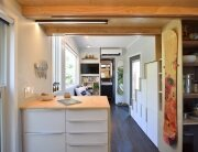 SHED - Shedsistence - Washington - Kitchen and Living Room Beyond - Humble Homes