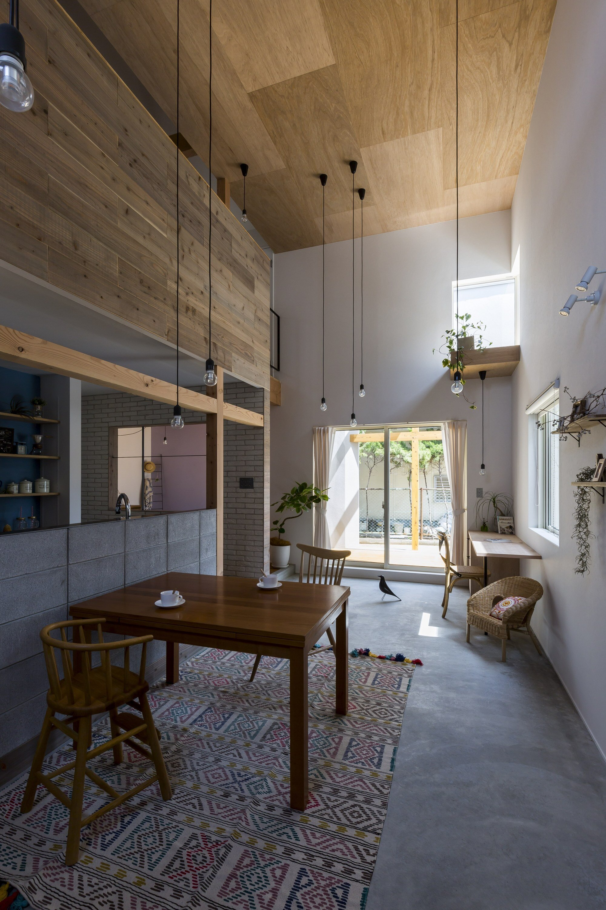 Uzi House - ALTS Design Office - Hironocho Kyoto - Dining Area - Humble Homes