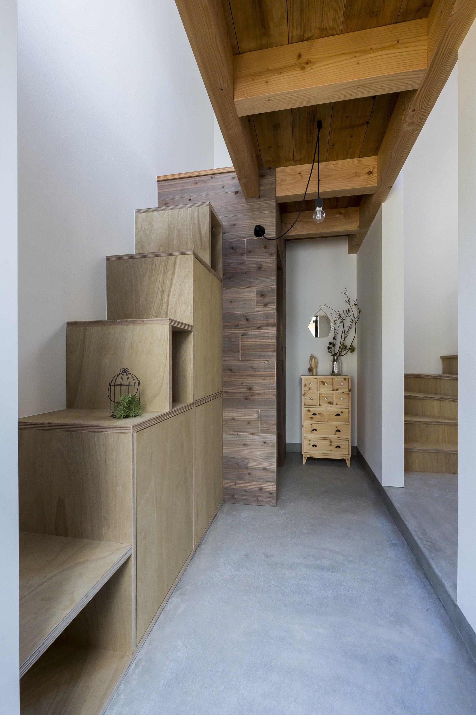 Uzi House - ALTS Design Office - Hironocho Kyoto - Staircase - Humble Homes