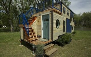 The Tiny Ski Lodge – A 240 Square Foot Tiny House by Extreme Living Solutions