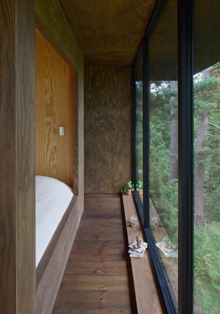 Summerhouse T - Krupinski Krupinska Arkitekter - Stockholm - Bedroom - Humble-Homes