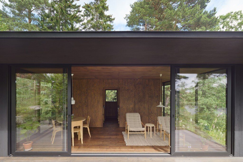 Summerhouse T - Krupinski Krupinska Arkitekter - Stockholm - Living Room - Humble-Homes